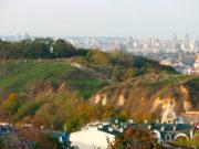 Вид на Замковой горе