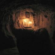 Келья в Китаевских пещерах