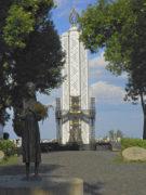 Монумент жертвам голодомора в Парке Славы