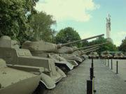 Музей истории Великой Отечественной войны - танки