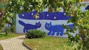 Коты на Пейзажной аллее